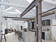 Zuhause im Industrial Chic #News #Wohnstile