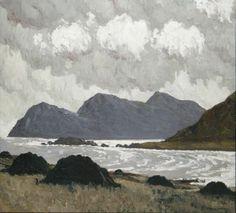 Paul Henry (Irish) - Achill Head from Keel.