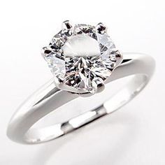 1 12 Carat Diamond Engagement Ring Tiffany Platinum 43
