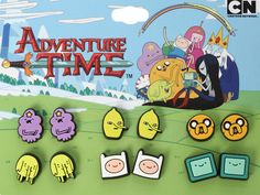 "'Adventure Time' Character Earrings: Jewelry From The Land Of ""Oooh!"""