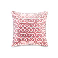 image of Echo Design™ Madira Square Throw Pillow in Ivory