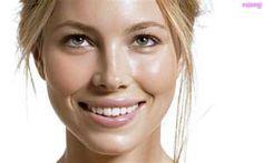 Jessica Biel...pretty skin, smile, eyes..