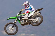 1) Best Motocrosser: Kawasaki KX450F