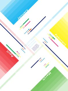 colours infography