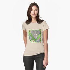 PAINTED ELEPHANT 349. by sana90 | Redbubble Vintage T-shirts, Vintage Fashion, Vintage Style, My T Shirt, V Neck T Shirt, Heathers The Musical, Pigeon Pose, Vintage Vinyl Records, Skateboarding