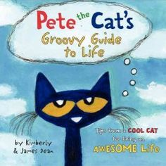 Everyone's favorite cat shares a collection of his favorite inspirational and feel-good quotes in Pete the Cat's Groovy Guide to Life. Pete's glass-half-full outlook on life shines through as he adds his fun take on well-known classics attributed to luminaries from Albert Einstein to Confucius to Abraham Lincoln to Shakespeare and more!