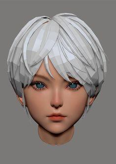 3d Model Character, Female Character Design, Character Modeling, Character Concept, Character Art, Concept Art, 3d Modeling, Blender 3d, 3d Max Vray