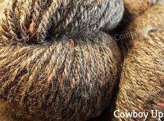"""Cowboy Up"" has a black fleece base with bits of orange tossed it. Alpaca Socks, Cowboy Up, Tossed, Mustang, Fiber, Handmade Items, Base, Orange, Gifts"