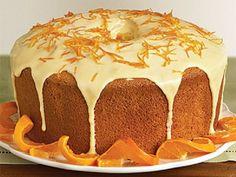Κέικ Πορτοκάλι με γλάσο