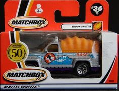 Model Matchbox Troop Shuttle