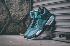 """Air Jordan 4 Retro """"Teal"""" (Release Reminder & Detailed Pics)"""