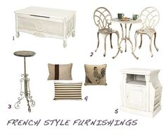 French Country Furniture and Decor