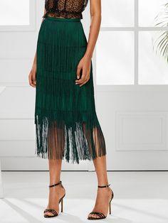 Fringe Skirt, Lace Skirt, Fringe Pants, Fringe Fashion, Floral Print Skirt, Skirt Outfits, Just In Case, Tie Dye Skirt, Pants For Women