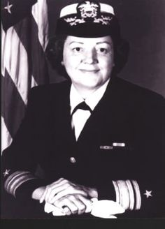 On June 1, 1976, Alabama native Fran McKee became the first woman unrestricted line officer to become a Rear Admiral in the United States Navy. She earned a doctorate in Public Administration (honoris causa) from the Massachusetts Maritime Academy/University, and was one of the first two women to graduate from the Naval War College.  Her military awards included the Legion of Merit with Gold Star, Meritorious Service Medal, and the National Defense Service Medal with Bronze Star.