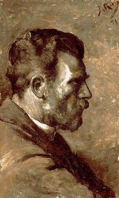 Pablo Picasso. Portrait of father l`artiste, 1896