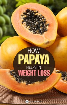 Papaya Diet - How Papaya Aids Weight Loss: Eating unhealthy, irregular eating ha. Ketogenic Diet Weight Loss, Quick Weight Loss Diet, Weight Loss Drinks, Weight Loss Smoothies, Weight Gain, Healthy Weight, Papaya Benefits, Best Diet Drinks, Fruit Diet