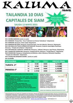 Tailandia 10 dias Capitales de Siam ultimo minuto - http://zocotours.com/tailandia-10-dias-capitales-de-siam-ultimo-minuto/