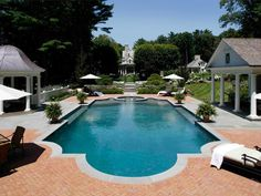 """Perfect """"family compound"""": I'll live in the pool house w/ my husband & our kids & grandkids live down the path (a short walk to """"Mimi & Pop-pop"""")"""