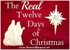 A Partridge in a Pear Tree {The REAL Twelve Days of Christmas} - Home With Purpose