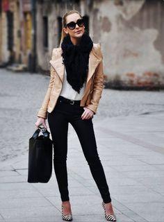 Pale Leather Jacket - My Jacket