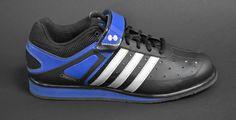 Adidas PowerLift Trainer Black & Royal Blue - Shoes