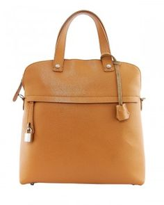 EA Solid Color Leather Tote