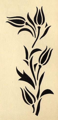 Galerie des pochoirs fleurs - Loisirs Creatifs de F1ADC                                                                                                                                                                                 Plus