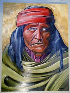 Art Canvas Print Oil Painting  Home Decor 16x20 Apaches Trekking The Indians