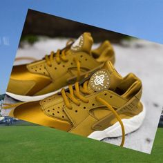 Nike Huarache Verdi Fluo