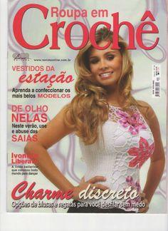 Artesanato com amor...by Lu Guimarães: Revista Roupas em Crochê  Completa