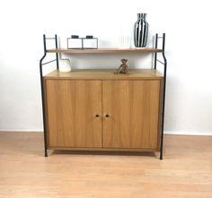 Design & Stil Sparsam 1 Von 2 Teak Sideboard 60s Danish Vintage Design 60er Büro Aktenschrank Kommode