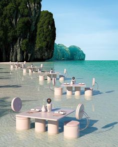 Bar Restaurant Design, Bar Design, Boho Home, Retro Futuristic, Futuristic Design, Design Graphique, 3d Artist, Zara Home, Hotels And Resorts