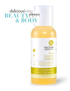 I love this cleanser.  Exfoliating, sulfate-free cleanser with Fruit AHAs for fresh, smooth skin.