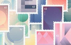 »Letter-inspired Stamps« ist eine von Buchstaben inspirierte Briefmarken-Serie. Jeder Buchstabe des lateinischen Alphabets basiert auf geometrischen Formen. Diese Formen nahm ich, vervielfältigte, skalierte und zertrennte sie, um neue Kompositionen zu bilden. Beispielsweise besteht die erste Briefmarke aus Dreiecken und horizontalen Linien, entstanden aus dem Buchstabe »A«. Fabian Fohrer http://www.fabianfohrer.com
