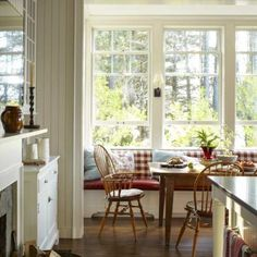 Classic Style with Maura Endres - The Glam Pad Cosy Home, Estilo Country, New Home Construction, Lake Cottage, Waterfront Homes, Cottage Design, Cottage Style, Architectural Digest, Decoration