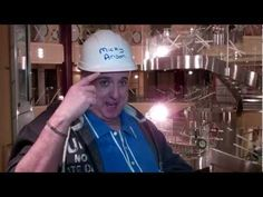 Senior Cruise Director, John Heald, visits the Carnival Breeze. I love you  & your sense of humor ,John Heald. I have a Carnival Crush on you even if you are wearing Mickey's hard hat