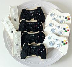 Game Controller Cookies.