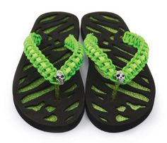 Paracord Flip Flops - u make this your self and this is from MICHEALS  art supplies