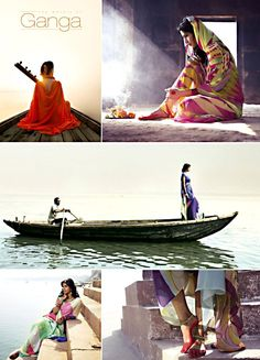 The Water of Ganga - #Saree Collection