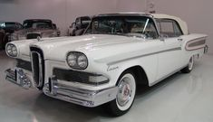 1958 Ford Edsel #ford #americancars #classiccars