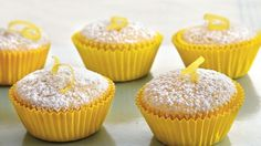 Mini Lemon Chiffon Cakes