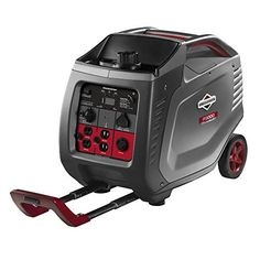 BuyBuyBlacksheep | Briggs & Stratton 30545 PowerSmart Series Portable 3000-Watt Inverter Generator with (4) 120-Volt AC Outlets and (1) 12-Volt DC Outlet