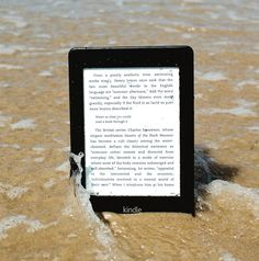 For  those readers who have dreamt about taking their e-reader into the bath with them,  rejoice!  Waterfi is a company dedicated to waterproofing the electronics we all love.  The waterproofing process allows readers to take their device underwater up to 210 feet, so pool fanatics and beach-goers can enjoy them as well. The Kindle Paperwhite itself is an incredible device, boasting an eight-week battery life, 4GB of memory to store thousands of books and built in Wi-Fi .