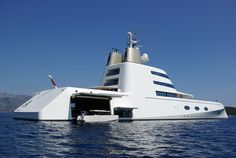 World's Top 10 Most Expensive Luxury Yachts 6. Superyacht A – $323 million