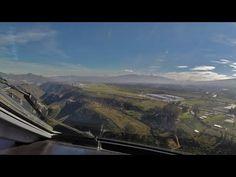PilotCAM E-190 into Quito's New Airport - YouTube