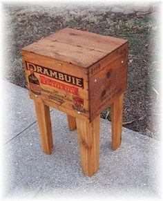 Shipping Crate TABLE DRAMBUIE 2 Liqueur Co Ltd by MrsRekamepip