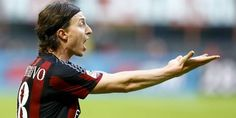 Riccardo Montolivo fait partie de l'ossature très italienne de l'AC Milan. (Stefano Rellandini/Reuters)