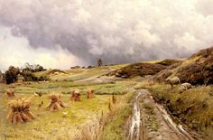 Peder Mork Monsted A Pastoral Landscape after a Storm painting for sale, this painting is available as handmade reproduction. Shop for Peder Mork Monsted A Pastoral Landscape after a Storm painting and frame at a discount of off. Landscape Art, Landscape Paintings, Landscapes, But Is It Art, Oil Painting Reproductions, Painting Lessons, Paintings For Sale, Oil Paintings, Figure Painting