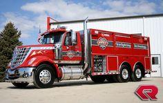 International Harvester Fire Truck