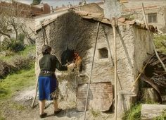 Old world community oven
